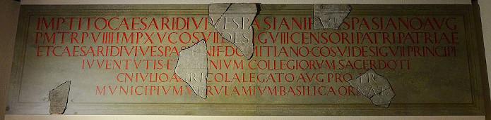 iscrizione agricola stalbans