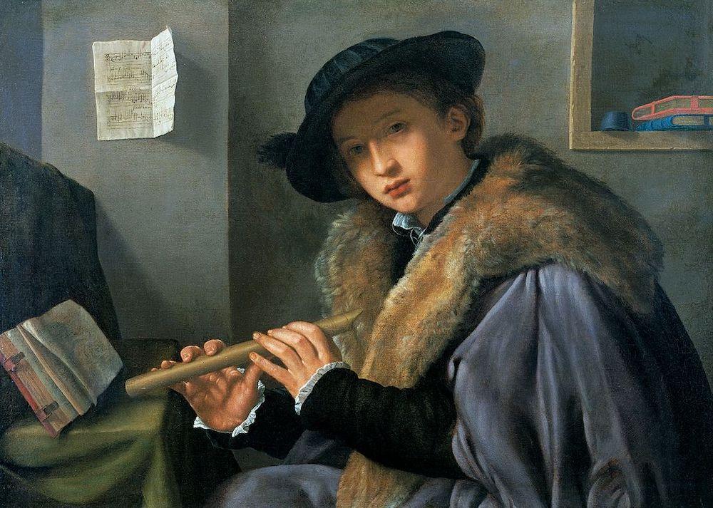 Savoldo Flautista