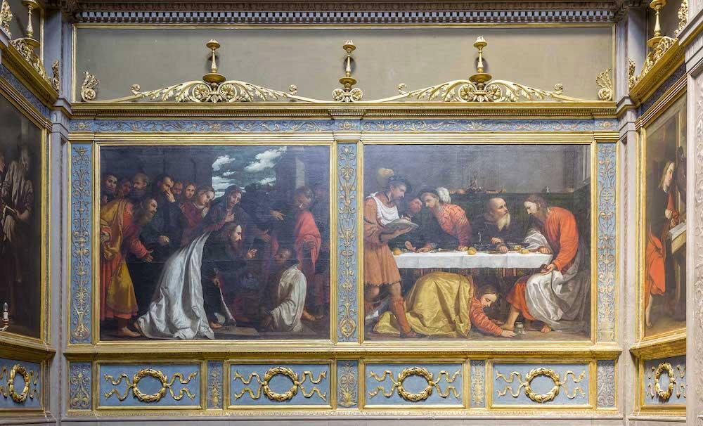 Romanino Resurrezione Lazzaro