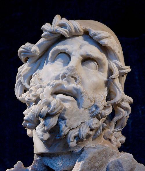 Testa di Ulisse, Sperlonga, Museo