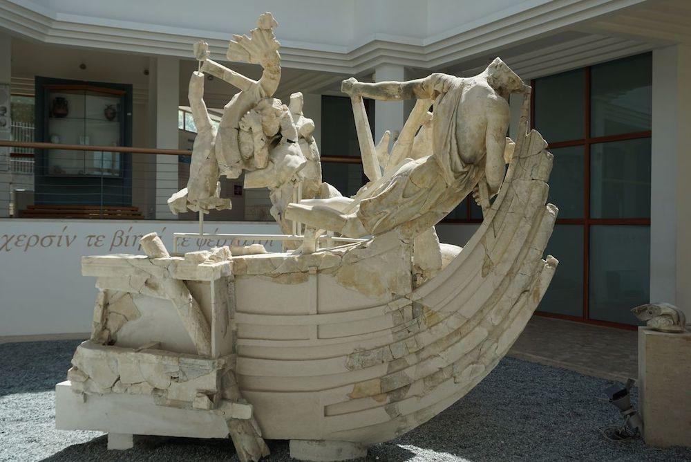 gruppo scultoreo di Scilla, Sperlonga, Museo