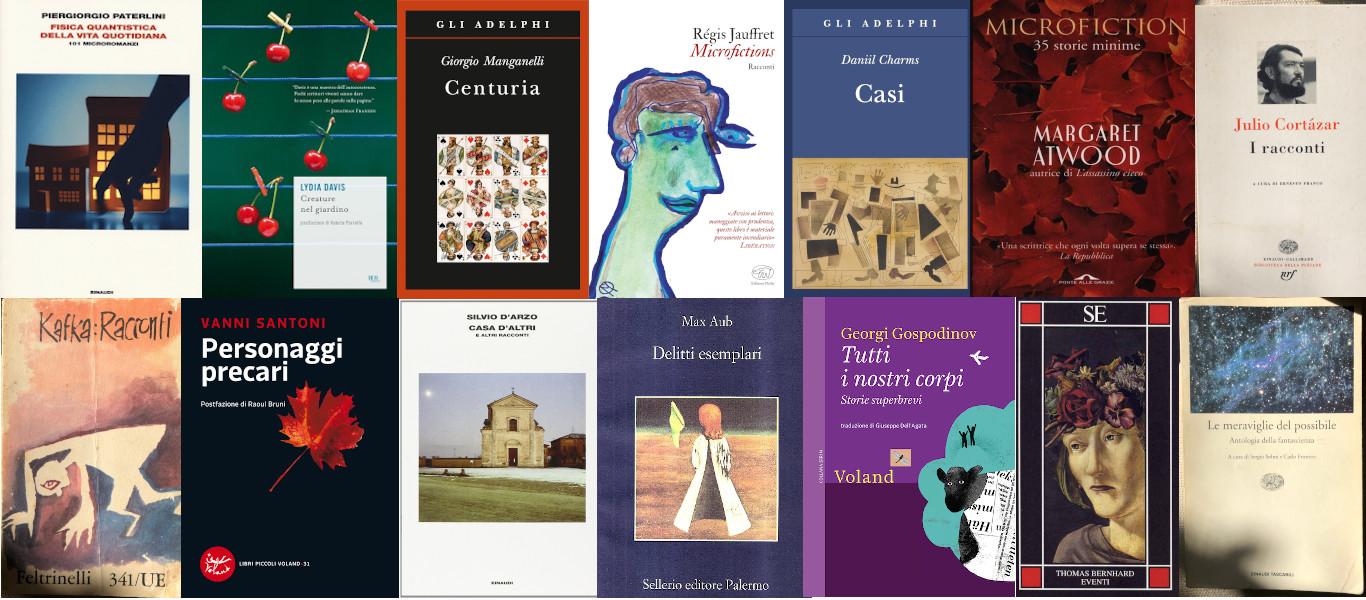 collage libri racconti