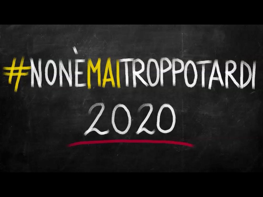 Non è mai troppo tardi 2020