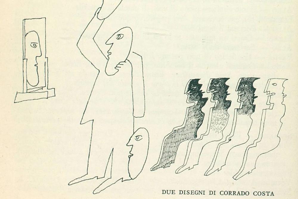 Corrado Costa disegno