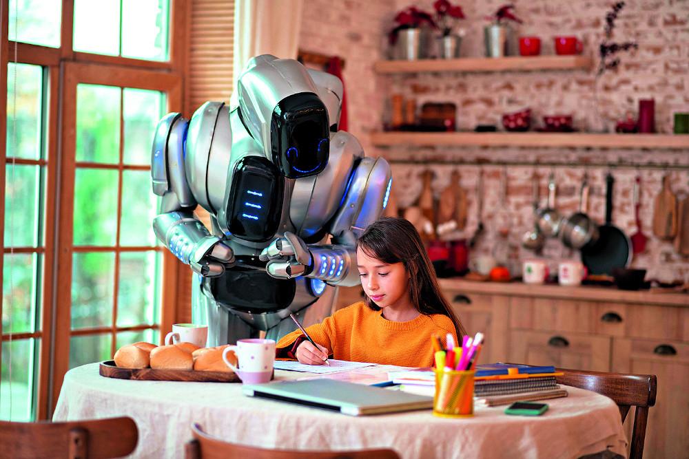 assistente casalingo robot