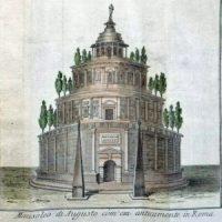 Il Mausoleo in un stampa settecentesca (Thomas Salmon)_square