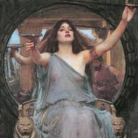 Circe *oil on canvas *148 x 92 cm *1891