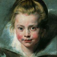 Rubens Peter Paul PortrŠt der Clara Serena Rubens, der Tochter des KŸnstlers (1611Ð1623) um 1616 …l auf Leinwand auf Holz GE105  Portrait of Clara Serena Rubens (1611Ð1623) Ritratto di Clara Serena Rubens (1611Ð1623) Portrait de Clara SŽrŽna Rubens (1611Ð1623)